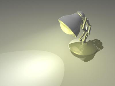 pixar lamp. Above is a link to Pixar#39;s